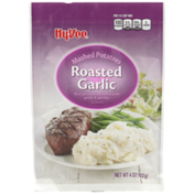 Hy-Vee Roasted Garlic Real Mashed Potatoes Seasoned With Garlic & Parsley