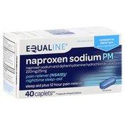 Equaline Naproxen Sodium PM, Caplets