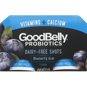 GoodBelly Juice Drink, Blueberry Acai Flavor