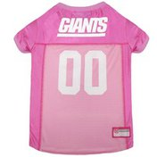 Pet First Extra Small Pink New York Giants Jersey