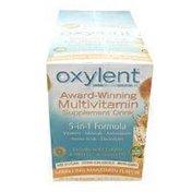 Oxylent 5-in-1 Daily Essential Nutrients Multivitamin Supplement Drink Packets, Sparkling Mandarin