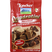 Loacker Cookies, Wafer, Hazelnut, Bite Size