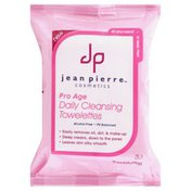 Jean Pierre Daily Cleansing Towelettes, Pro Age
