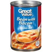 Great Value Bean W/Bacon Condensed Soup