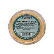 All Natural Food Corp Salmon & Dill Cream Cheese