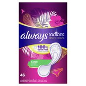 Always Daily Liners Long Absorbency