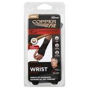 Copper Fit Wrist Sleeve, Compression, Unisex, Medium