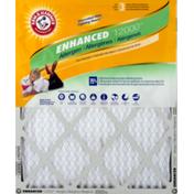 Arm & Hammer Air Filter, Allergen, Plus Odor Reduction, Enhanced 12000, Box