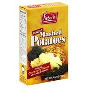 Liebers Potatoes, Mashed, Instant, Chicken-y Flavor with Fried Onions