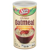 Shurfine Old Fashioned 100% Whole Grain Cereal Natural Oatmeal