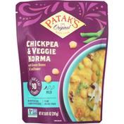 Patak's Chickpea & Veggie Korma, Mild