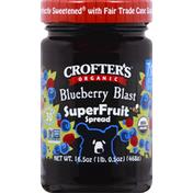 Crofter's Spread, Organic, Blueberry Blast