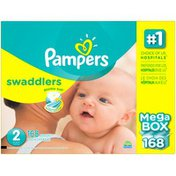 Pampers Swaddlers Diapers Size 2