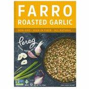 Pereg Natural Foods Farro Roasted Garlic Side Dish, Non-GMO, Vegan, Kosher