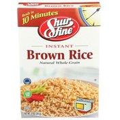Shurfine Instant Brown Rice