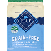 Blue Food for Puppies, Natural, Grain-Free, Chicken Recipe