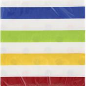 Celebrations Napkins, Dots & Stripes Multi Color, 2 Ply