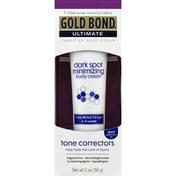 Gold Bond Targeted Body Cream, Dark Spot Minimizing, Tone Correctors
