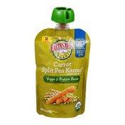 Earth's Best Organic Veggie & Protein Puree Carrot Split Pea Kamut