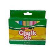Teachers Choice Chalk Combo Pack 24 Assorted 12 White 36pk