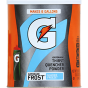 Gatorade Thirst Quencher, Instant Powder Mix, 02 Perform, Frost Glacier Freeze