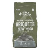 Fire & Flavor Briquets Olive Wood