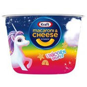 Kraft Macaroni & Cheese Easy Microwavable Dinner with Unicorn Pasta Shapes