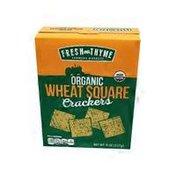Fresh Thyme Organic Wheat Squares