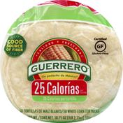 Guerrero Tortillas, White Corn, 25 Calories