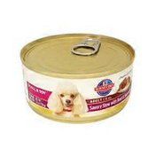 Hill's Science Diet Dog Food, Premium, Adult, Small & Toy, Savory Stew with Beef & Vegetables