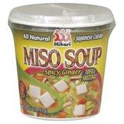 Hikari Soup, Miso, Spicy Ginger