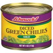 Schnucks Diced Mild Green Chilies