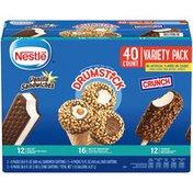 Nestle Ice Cream Variety Pack Vanilla Sandwiches And Crunch Bars