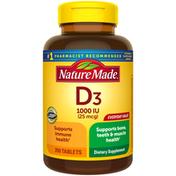 Nature Made Vitamin D3 1000 IU (25mcg) Tablets