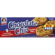 Little Debbie Creme Pies, Chocolate Chip, Big Pack