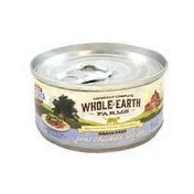 Whole Earth Farms Grain Free Real Chicken Recipe Morsels In Gravy Natural Food For Cats
