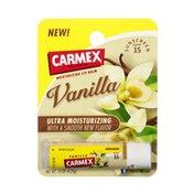 Carmex Vanilla Ultra Moisturizing Lip Balm