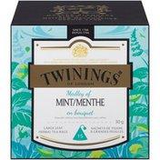 Twinings Medley of Mint Large Leaf Herbal Tea Bags