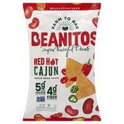 Beanitos Bean Chips, White, Red Hot Cajun