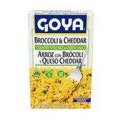 Goya Broccoli & Cheddar Rice Mix, Country Style