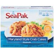 SeaPak Shrimp & Seafood Company Maryland Style Crab Cakes