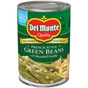 Del Monte Green Beans with Roasted Garlic, French Style