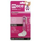 Mace Keychain Defense, OC Pepper, Mini Model, Hot Pink
