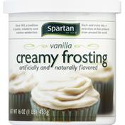 Spartan Creamy Frosting, Vanilla