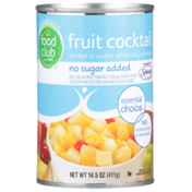 Food Club Fruit Cocktail Packed In Water
