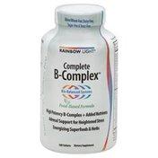 Rainbow Light Complete B-Complex, Food-Based Formula, Tablets