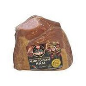 CURE 81 Ready to Carve Single Muscle Flank Half Ham