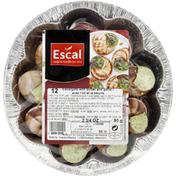 Escala Escargots, with Butter and Garlic
