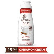 Natural Bliss Cinnamon Cream All Natural Liquid Coffee Creamer