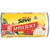 Always Save Apple Juice